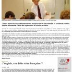 Article de presse du 27.03.2017 - La hausse du soutien scolaire - Blois